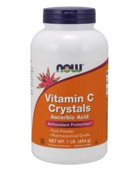 Now Foods, Vitamin C-Kristalle, 1 lb (454 g)