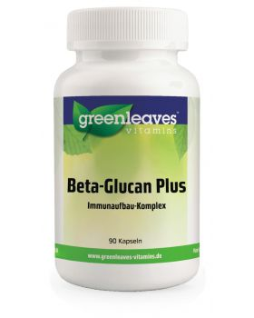 Green Leaves BETA-GLUCAN PLUS 90 Kapseln
