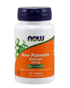 Now Foods Saw PAlmetto Extrakt 160 mg 60 Softgel Kapseln