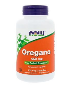 Now Foods Oregano 450 mg 100 vegetarische Kapseln