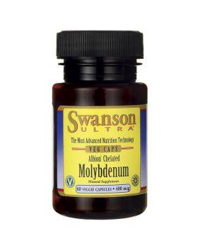 Swanson Molybdän Chelatisiert / Elementares 400mcg 60 Kaps