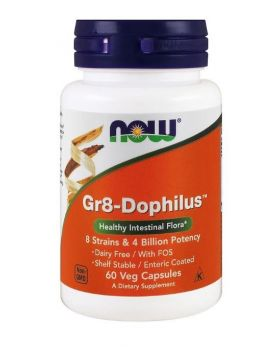 Now Foods Gr8-Dophilus 60 vegetarische Kapseln