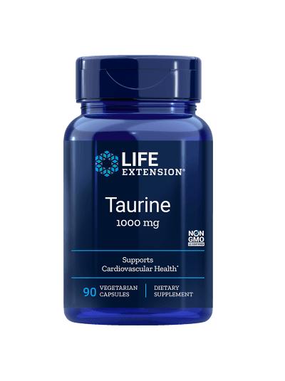 Life Extension Taurin - 1000 mg - 90 vegetarische Kapseln