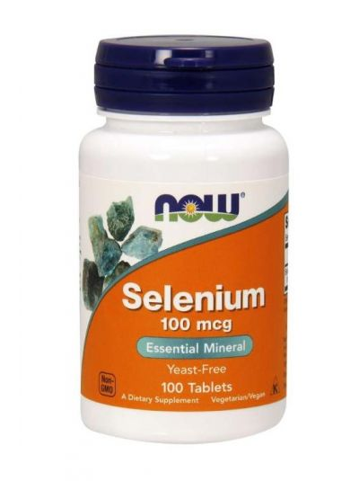 NOW FOODS SELEN OHNE HEFE 100 MCG 100 TABLETTEN