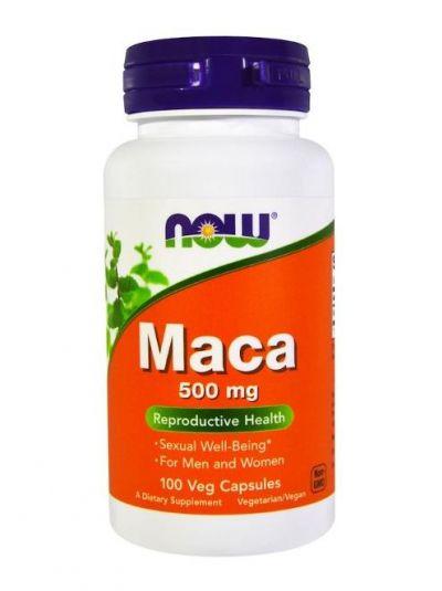 Now Foods Maca 500 mg 100 Vege-Kapseln