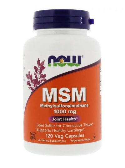 NOW FOODS MSM 1000 MG 120 KAPSELN