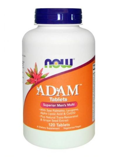 Now Foods Adam Erstklassiches Herren Multi 120 Tabletten