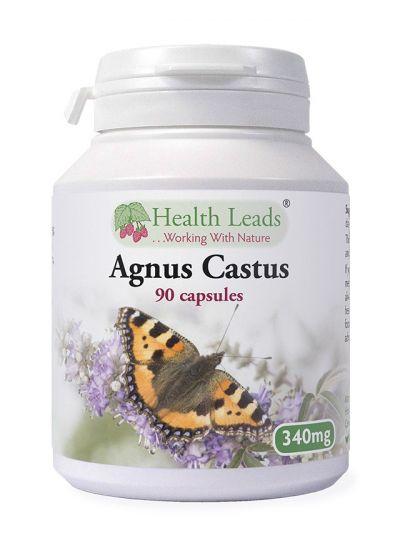 Health Leads Mönchspfeffer Agnus Castus 340mg x 90 capsules