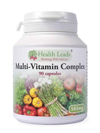 HEALTH LEADS MULTIVITAMIN-KOMPLEX 585 MG X 90 KAPSELN