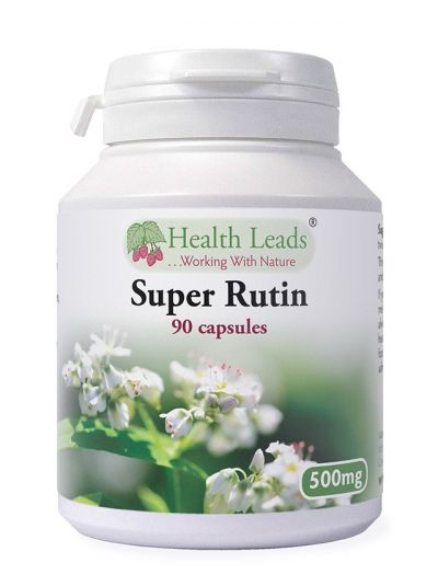 Health Leads Super Rutin 500mg x 90 Kapseln
