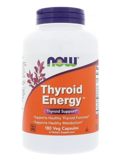 NOW FOODS THYROID ENERGY 180 VEGETARISCHE KAPSELN