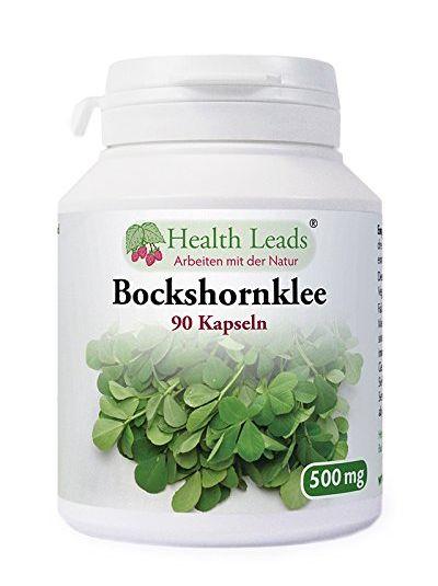 Health Leads Bockshornklee 500 mg x 90 Kapseln