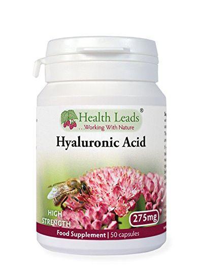 Health Leads Hyaluronsäure (hochdosiertes) 275 mg x 50 Kapseln
