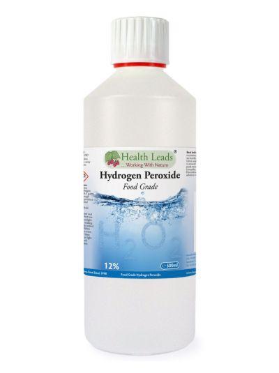 HEALTH LEADS WASSERSTOFFPEROXID H2O2 12% LÖSUNG 500 ML