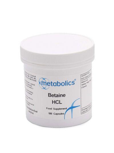 MEtabolics Betain HCl 180 Kapseln