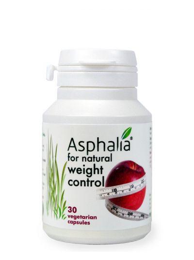 Asphalia für natürliche Gewicht Kontrolle x 30 kaps (1 Monats Vorrat)