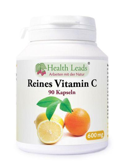 Vitamin C 600mg x 90 Kapseln