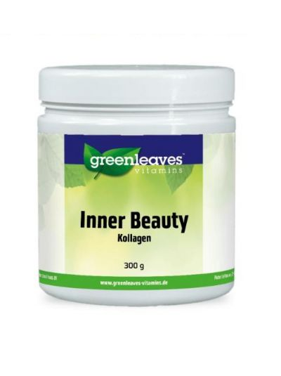 Green Leaves INNER BEAUTY - KOLLAGEN PRODUKT mit MSM und Hyaluronsäure 300g