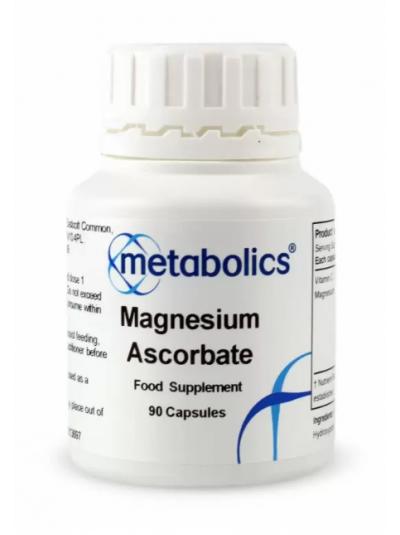 Metabolics Magnesium Ascorbate 90 Kapseln