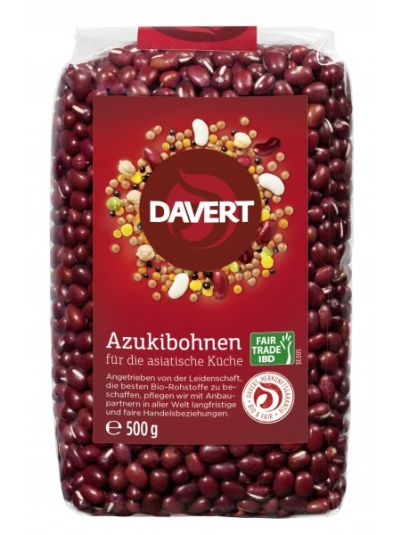 Davert Azukibohnen Fair Trade IBD 500g