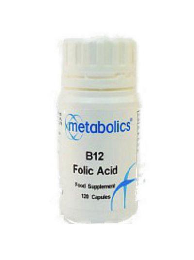 Metabolics B12 und Folsäure 120 Kapseln