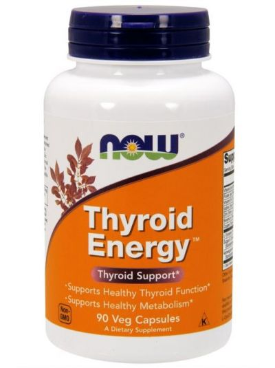NOW FOODS THYROID ENERGY 90 VEGETARISCHE KAPSELN