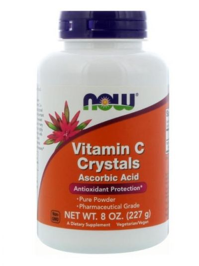 Now Foods Vitamin C Kristalle 454g