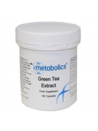 Metabolics Grüner Tee Extrakt 120 Kapseln