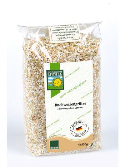 Bohlsener Mühle Buchweizengrütze aus Deutschland 500g