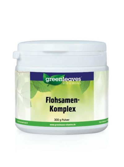 Green Leaves FLOHSAMEN-KOMPLEX PULVER 300g