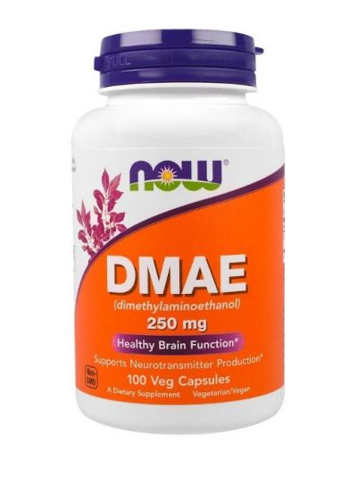 Now Foods DMAE 250 mg 100 Vegetarische Kapseln