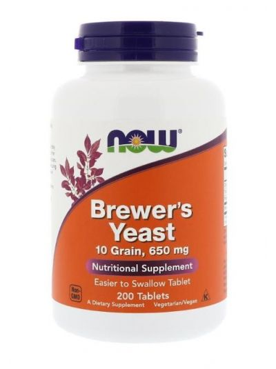 Now Foods Bierhefe 200 Tabletten
