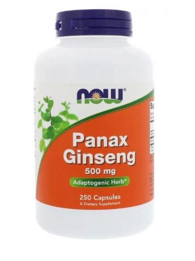 Now Foods Panax Ginseng 500 mg 250 Kapseln