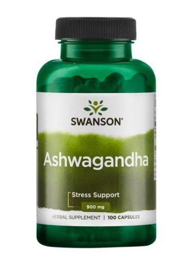 Swanson Ashwagandha 900 mg 100 Kapseln