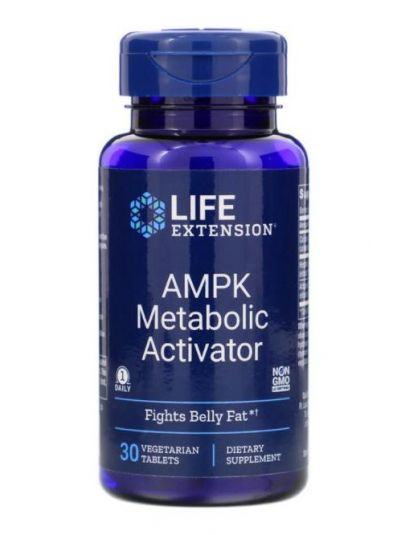 Life Extension, AMPK Metabolic Activator, 30 Vegetarische Tabletten