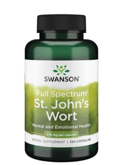 Swanson St. John's Wort - 375mg - 120 caps