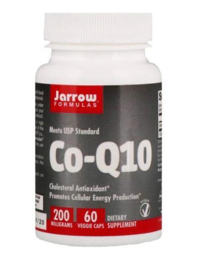Jarrow Formulas, Co-Q10, 200 mg, 60 Vegetarische Kapseln