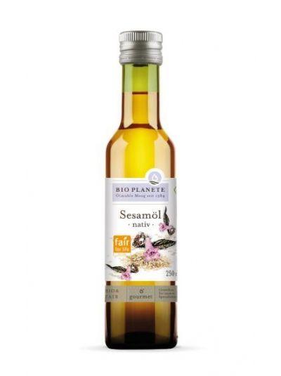 Bio Planète Ölmühle Sesamöl nativ (Bio & Fair) 250 ml