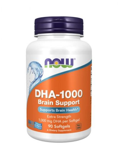 NOW FOODS DHA-1000 90 SOFTGELS