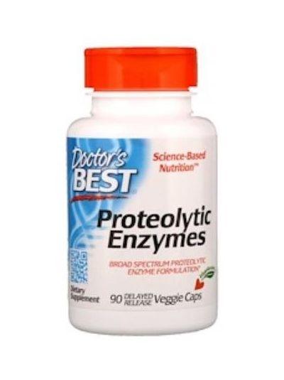 Doctor's Best Proteolytische Enzyme 90 magensaftresistenten Kaps