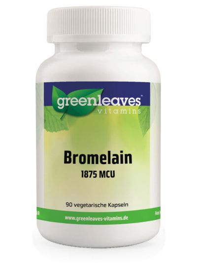 Green Leaves BROMELAIN 1875 MCU 90 Kapseln