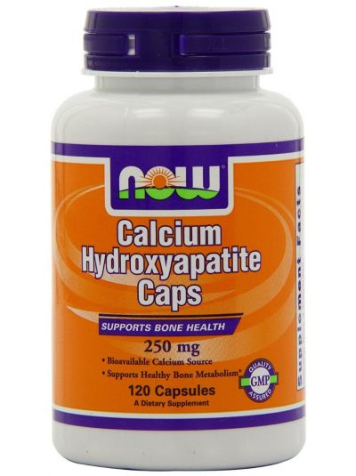 Now Foods Kalzium-Hydroxylapatite 120 Kapseln