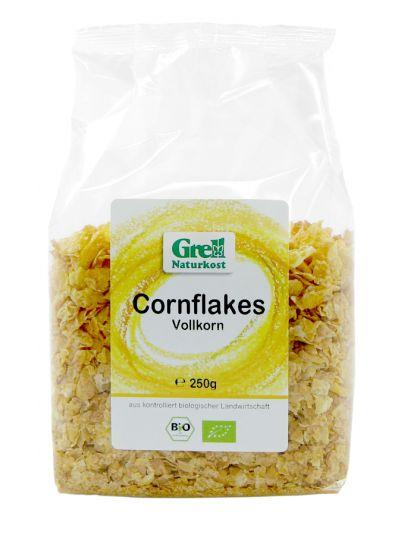 Grell Bio Vollkorn Mais Flocken ohne Zucker 250g