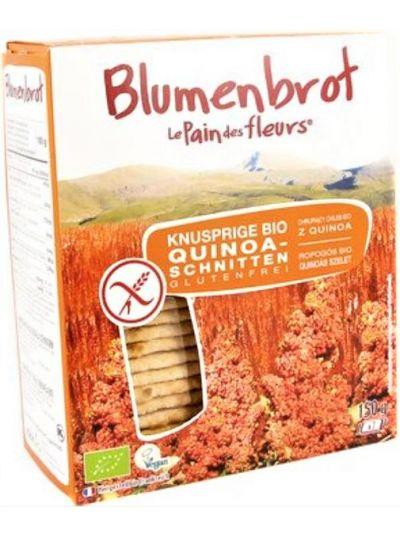Blumenbrot Quinoa-Schnitten BIO 150g