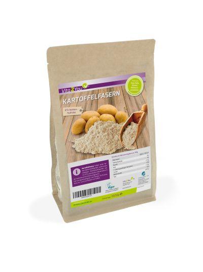 Vita2You Kartoffelfasern Premium Qualität - 8% Kohlenhydrate 1000g