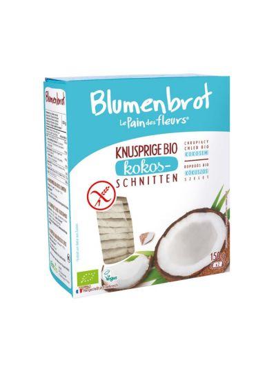 Blumenbrot Bio Kokos Knusperbrot glutenfrei 150g