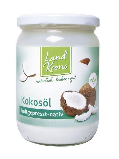 Landkrone Kokosöl nativ BIO 400g