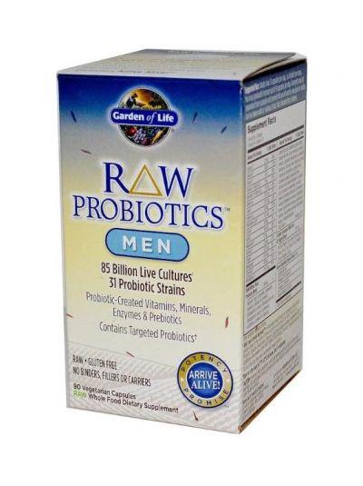 Garden of Life RAW Probiotitika für Männer 90 vegetarische Kapseln