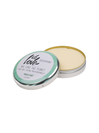 WE LOVE THE PLANET Natürliche Deocreme Mighty Mint