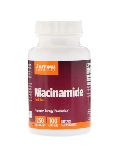 Jarrow Formulas Niacinamid, 250 mg, 100 Kapseln